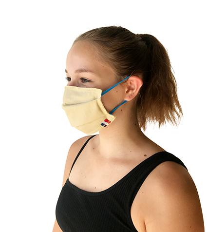 Masque tissu certifié AFNOR lavable 50 taille enfant